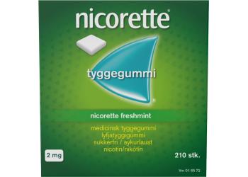 Nicorette Tyggegummi Freshmint 2mg