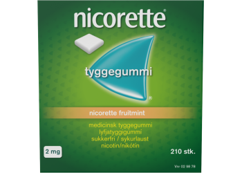 Nicorette Tyggegummi Fruitmint