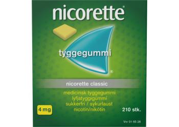 Nicorette Tyggegummi Classic