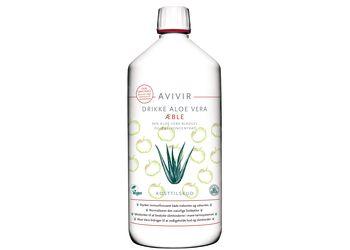 Avivir  Aloe Vera Drikke M Æble