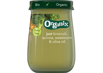 Organix Babymos quinoa & grøntsager Ø fra 6 mdr.