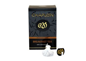 Chaplon Breakfast Sort/Hvid Te Ø