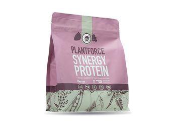 Plantforce Protein Synergy Bær