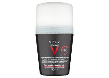 Vichy Homme Deo Roll-on 72H