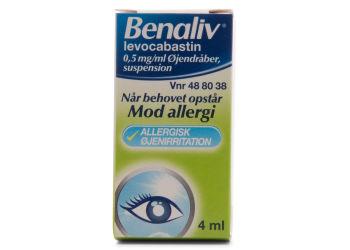 Benaliv Øjendråber