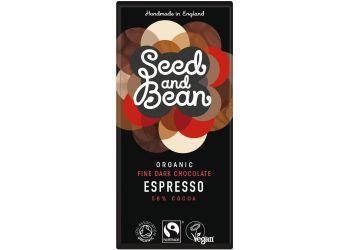 Seed & Bean Mørk Chokolade 58% Kaffe  Espresso Ø