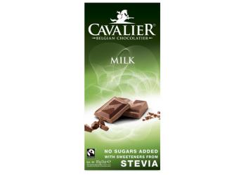 Cavalier Mælkechokolade med Stevia