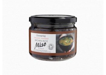 Clearspring Miso Brown Rice I Glas Opastöriserat Eko