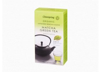 Clear Sencha Matcha Grönt Te Ekologiskt