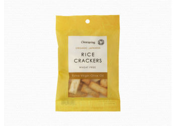 Clearspring Rice Crackers med Olivenolie