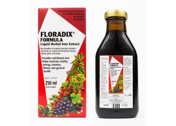 Floradix Kräuterblut Urte-jern mikstur