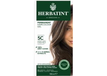 Herbatint 5C hårfarve Light Ash Chestnut