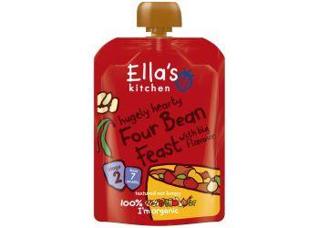 Ellas Kitchen Babymos bønner & grøntsager 7 mdr Ø