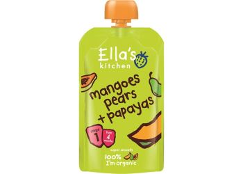 Ellas Kitchen S1 Mango, Pære og Papaya 4 mnd+