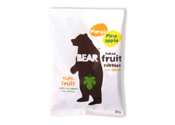 Bear Fruit Nibbles Mango & Ananas 40g