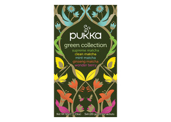 Pukka  Green Collection Te Ø Sampak Supreme Matcha, Clean Matcha, Mint Matcha,