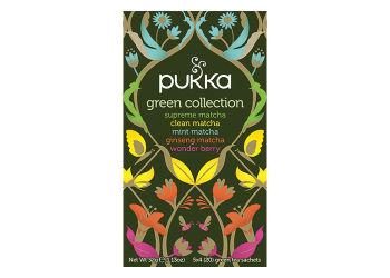 Pukka  Green Collection Te Ø Sampak Supreme Matcha, Clean Matcha, Mint Matcha,