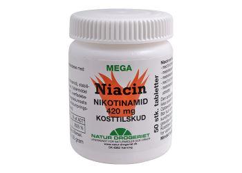 Natur-Drogeriet Niacin (Nikotinamid) 420 Mg
