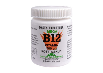 Natur-Drogeriet B12 Mega Vitamin 500 Ug