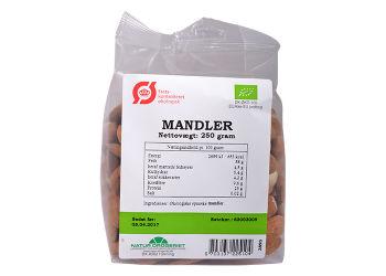 Natur-Drogeriet Mandler Søde Spanske Ø