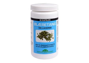 Natur-Drogeriet Blæretang (Havalge M.  Lucerne) 400 Mg