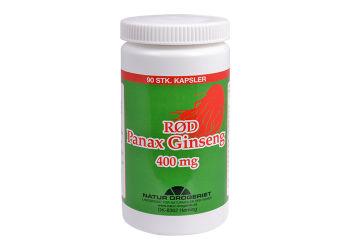 Natur-Drogeriet Rød Ginseng 400 Mg