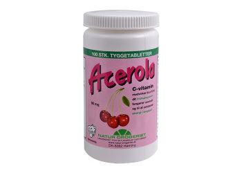 Natur-Drogeriet Acerola C Vitamin 90 Mg