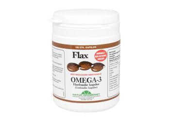 Natur-Drogeriet Flax Omega 3, 500mg Hørfrøolie