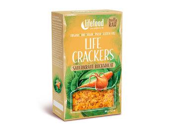 AbsorBurn Life Crackers M. Surkål & Bokhvete Raw Ø