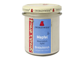 Smørepålæg peberrod, æble  streich Ø Zwergenwiese