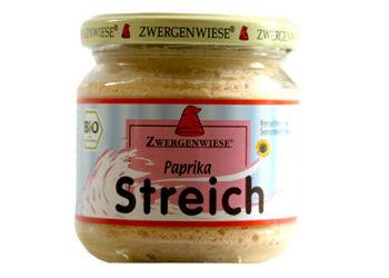 Smørepålæg veg. paprika  streich Ø Zwergenwiese