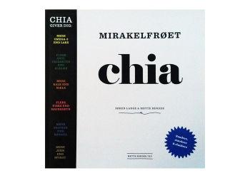 Mirakelfrøet chia bog Forfatter: Søren Lange & Mette Bender