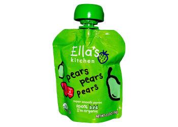 Ellas Kitchen Babymos Pære, Pære & Pære 4 Mdr Ø
