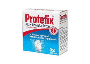 Protefix Aktiv Rensetabletter til Tandprotesen