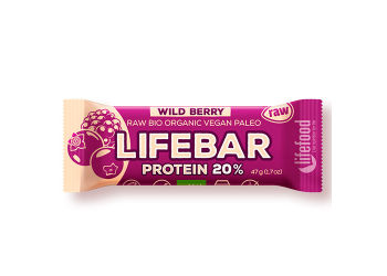 AbsorBurn Lifebar Wildberry Proteinbar Ø
