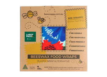 Bee Wrappy Beeswax Food Wraps 2 X Large
