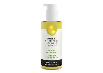 Sonett Krops & Massageolie Citron/ Cembrafyr