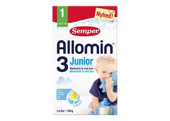 Semper Allomin 3 Junior Tilskudsblanding Fra 1 År