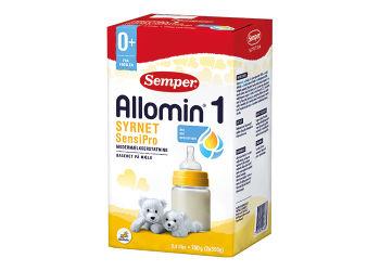 Semper Allomin 1 Syrnet Sensipro  Modermælkserstatning 0+