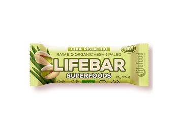 Lifefood Lifebar Chia Pistacienød Raw Ø