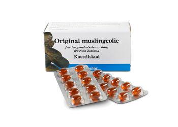 Original Muslingeolie (Grønlæbede)