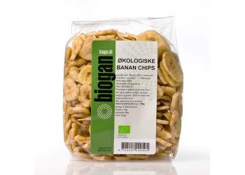 Biogan Banana Chips Ekologisk