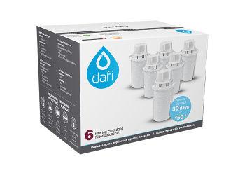 Dafi Filterpatroner 6-pakk
