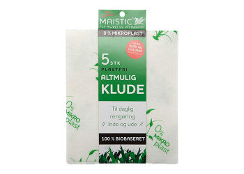 Maistic Altmuligklude M. Print 5 Stk. Fri For Microfiberplast