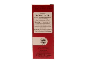 Sanum-Kehlbeck Utilin S D6 Kapsler (Rød)