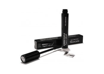 Green People Volumising Mascara - Sortbrun
