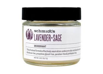 Schmidt's Deodorantcreme Lavender+sage  Natural Deodorantcreme I Krukke