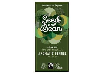 Seed And Bean Mörk Choklad 58% Fänkål Eko