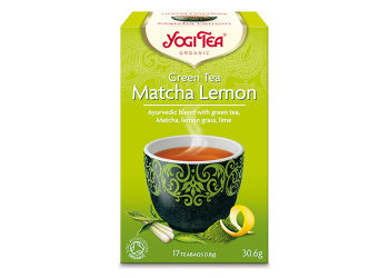 Yogi  Tea Green Tea Ø Matcha  Lemon Organic