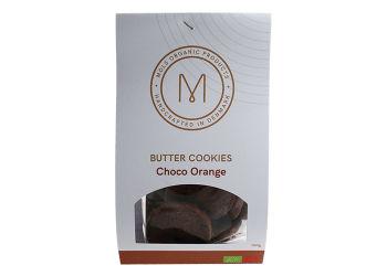 Mols Organic Småkager Choko og Appelsin Ø
